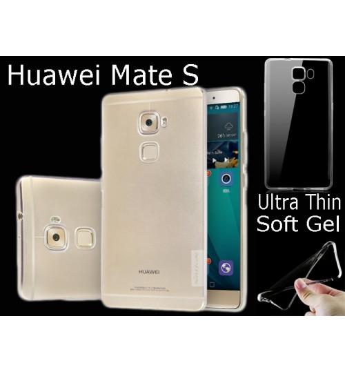 Huawei Mate S case clear gel TPU Ultra Thin
