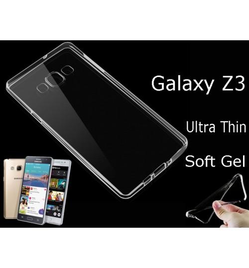 Samsung Galaxy Z3 case clear gel TPU  Ultra Thin