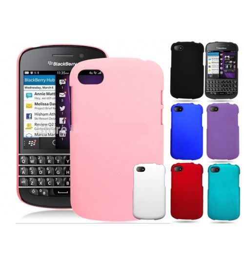 Blackberry Q10 Slim hard Matte case +Pen