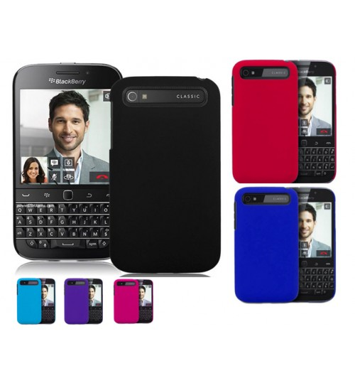 Blackberry Q20 Slim hard Matte case +Pen