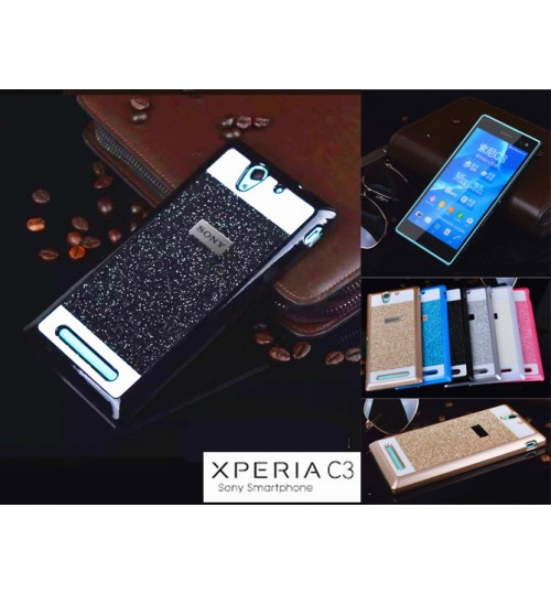 Sony Xperia C3 Case Glaring Slim cover case
