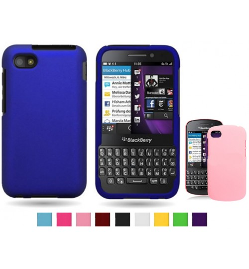 Blackberry Q5 Ultra Slim hard Matte case +Pen