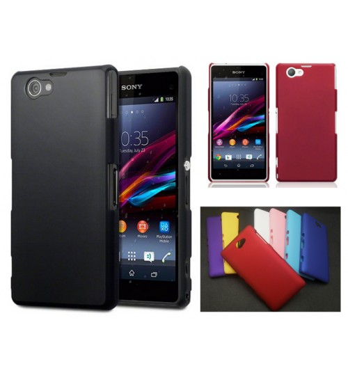 Sony Xperia Z1 Compact Slim hard case cover +Pen