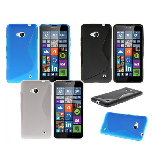 Microsoft Lumia 640 case TPU gel cover S line