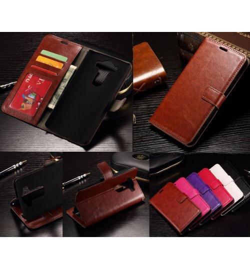 LG V10 vintage fine leather case cover+Pen