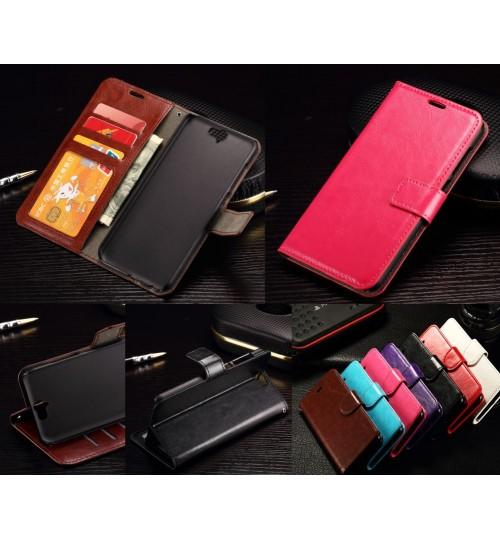 HTC ONE A9  vintage fine leather wallet case+Pen