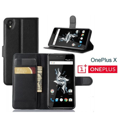 Oneplus X case Wallet leather cover