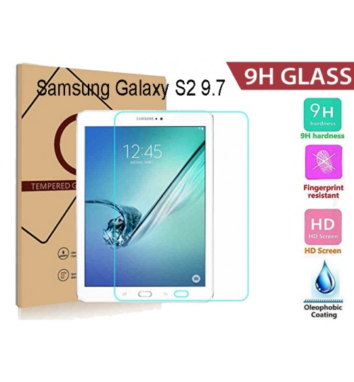 Galaxy Tab S2 9.7  Tempered Glass Screen Protector