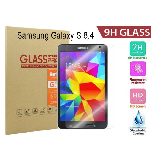 "Galaxy Tab S 8.4"" Tempered Glass Screen Protector"