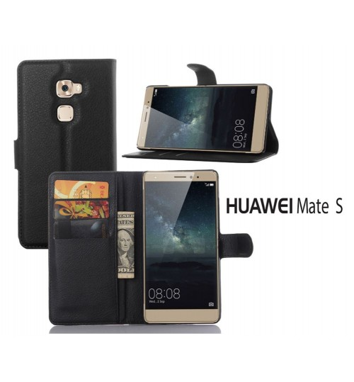Huawei Mate S wallet leather case+Pen