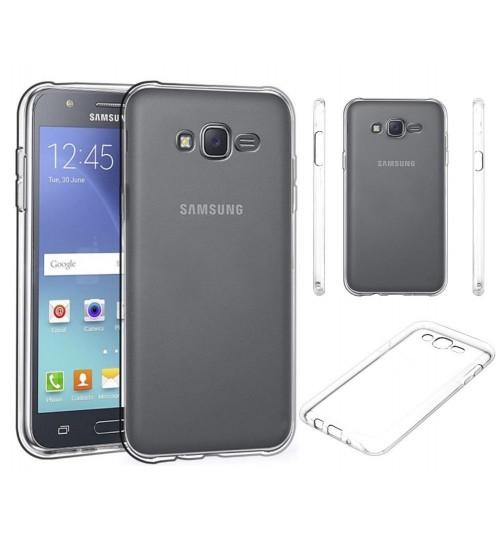 Samsung Galaxy J5 case clear gel Ultra Thin+Pen