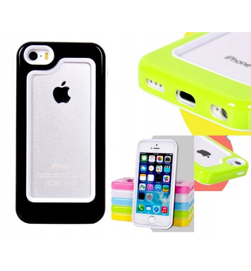 iPhone 4 4s candy shell bumper case + Combo