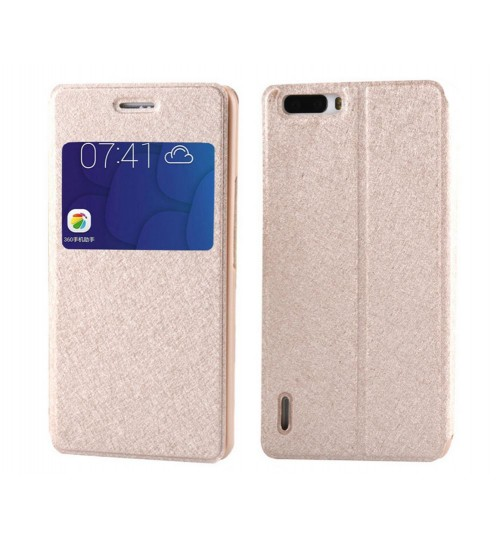 Huawei Honor 6 Plus case luxury view window