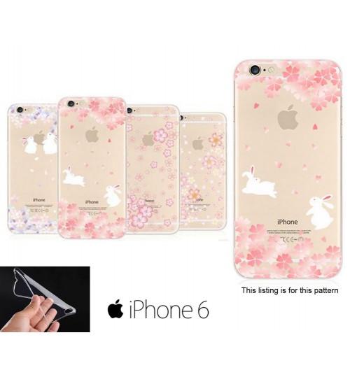 iPhone 5 5s Sakura Soft Gel UltraThin TPU case +SP