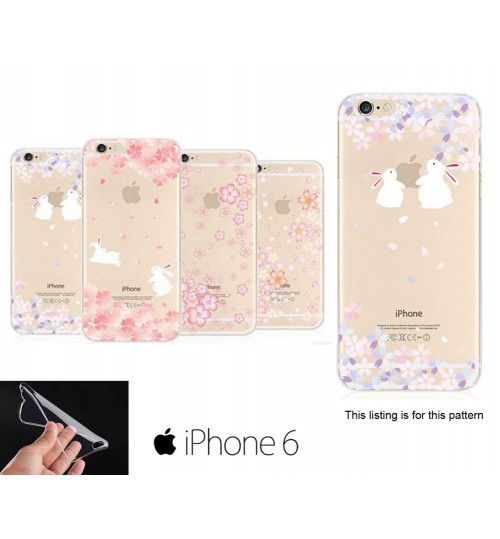 iPhone 5 5s Sakura Soft Gel UltraThin TPU case +SP