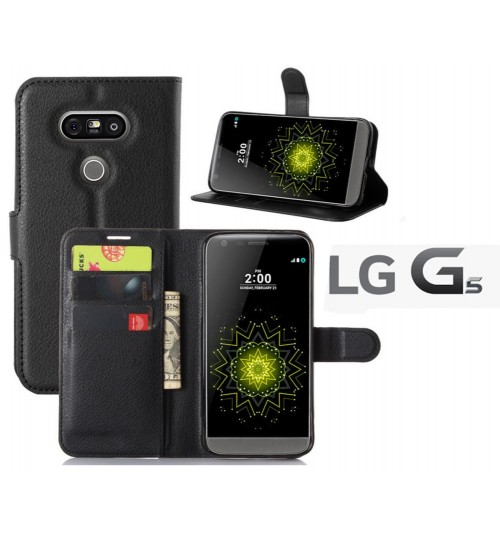 LG G5 Case Wallet leather cover case