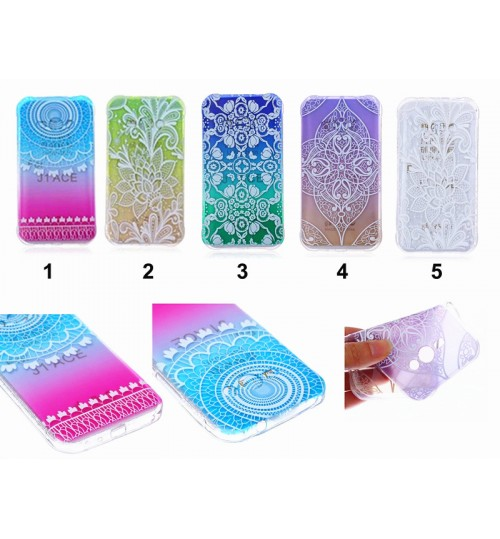 Galaxy J1 ace ultra thin gel case embossed print