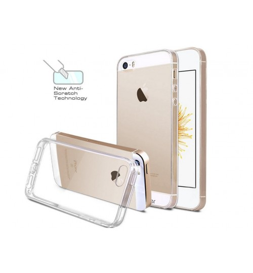 iPhone SE  Case Clear Gel Ultra Thin +SP