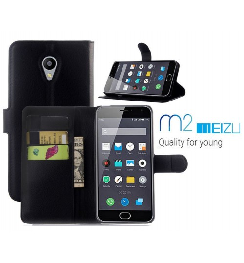 MEIZU M2 case wallet leather case