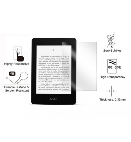 Kindle Paperwhite Tempered Glass Screen Protector
