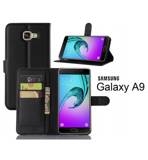 Samsung Galaxy A9 Wallet leather cover+combo