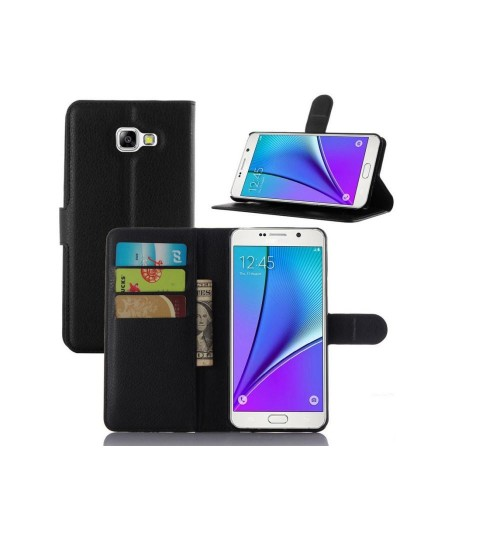 Samsung Galaxy A5 2016 Wallet leather cover+combo