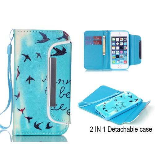 sale retailer 80ab0 3e716 Buy iPhone 6 6s wallet case magnetic detachable case online at Geek ...