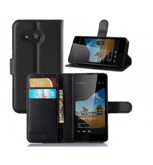 Microsoft Lumia 550 Wallet Leather Case Nokia