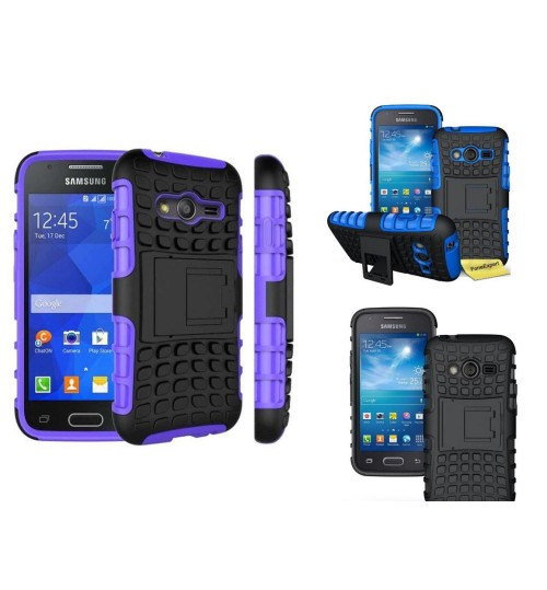 Galaxy ACE 4 NEO Heavy Duty Hybrid Kickstand Case
