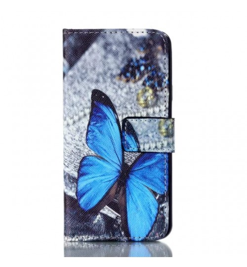 Galaxy A5 2016 case wallet leather case printed