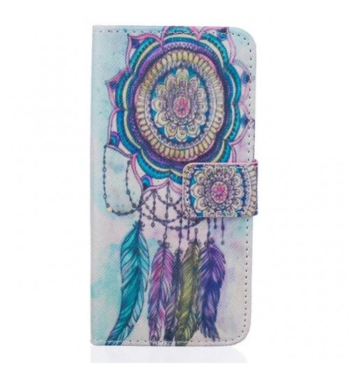 Galaxy A3 2016 case wallet leather case printed