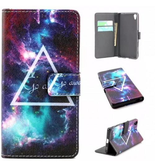 Sony Xperia Z5 case wallet leather case printed