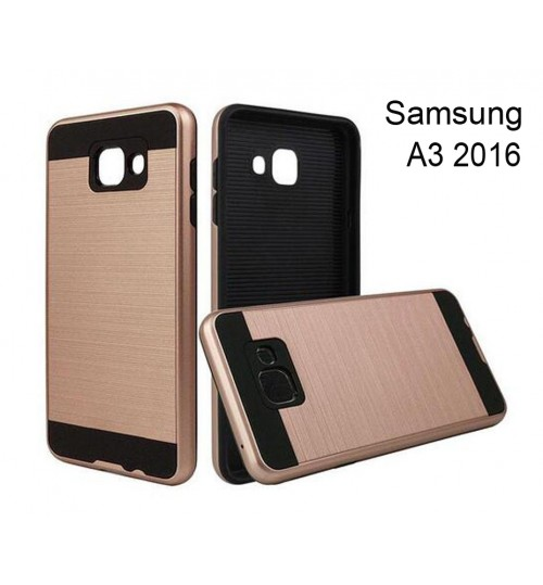 Galaxy A5 2016 A510 impact proof case brush metal