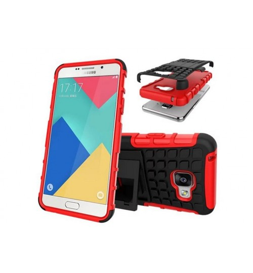 Galaxy A3 2016 Case Heavy Duty Hybrid Kickstand