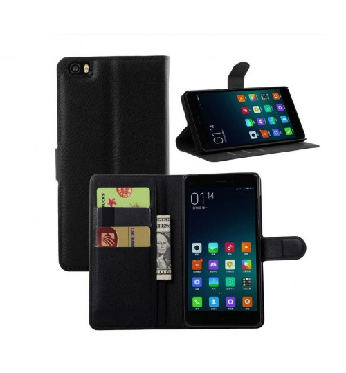 Xiaomi Mi NOTE  wallet leather case+Pen