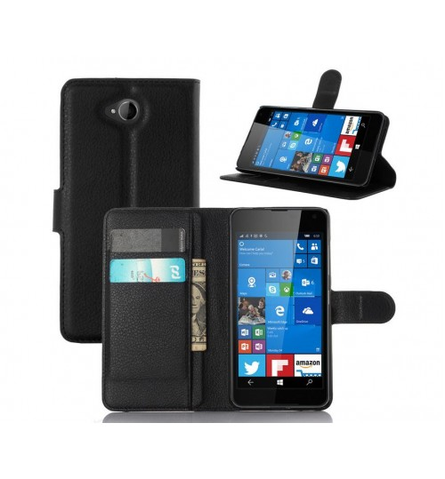 Microsoft Lumia 650 Wallet Leather Case Nokia