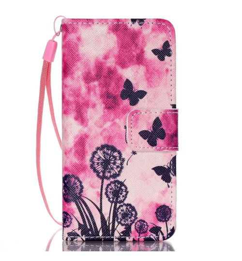 iPod Touch 5 6 case wallet leather case printed