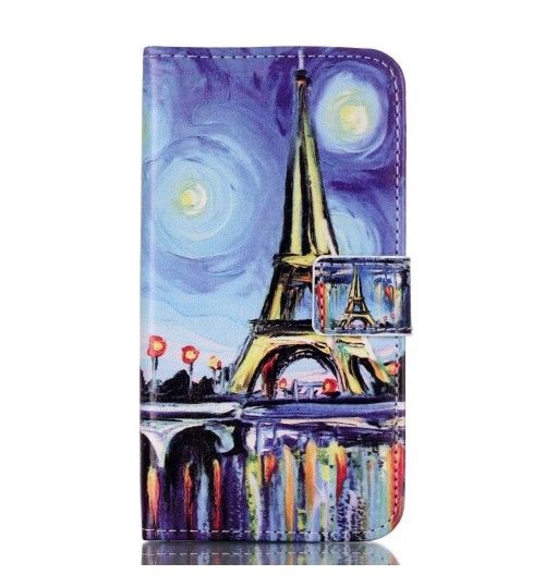 Samsung Galaxy J5 case wallet leather case printed