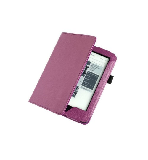 Kobo GLO HD eReader Leather Book Style Cover Case