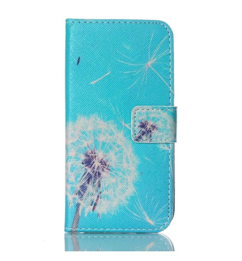 Galaxy S5 MINI case wallet leather case printed
