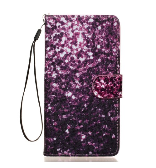 Galaxy S7 EDGE case wallet leather case printed