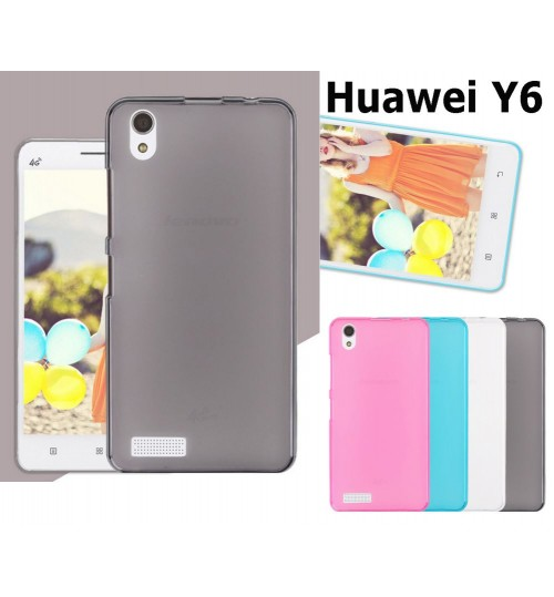 Huawei Y6 case TPU Soft Gel Case