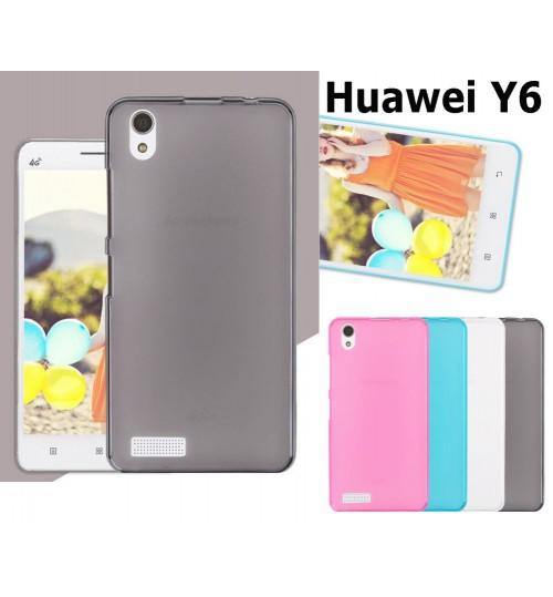 Huawei Y6 case TPU Soft Gel Case