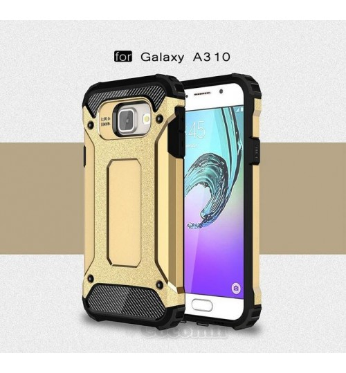 Galaxy A3 2016 Case Full-body Rugged Holster Case