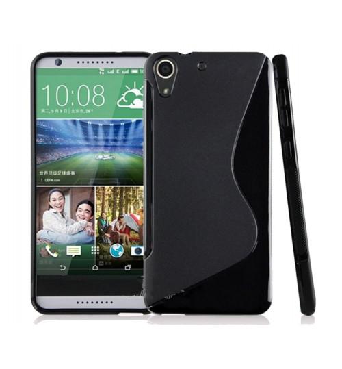 HTC Desire 728 case TPU Soft Gel Case+Pen