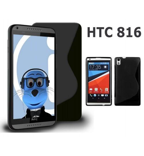 HTC Desire 816 case TPU Soft Gel Case+Pen