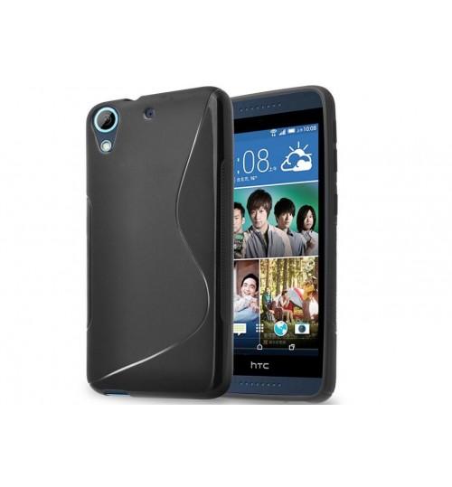HTC Desire 626G case TPU Soft Gel Case+Pen
