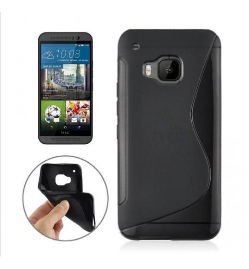 HTC ONE M9 case TPU Soft Gel Case