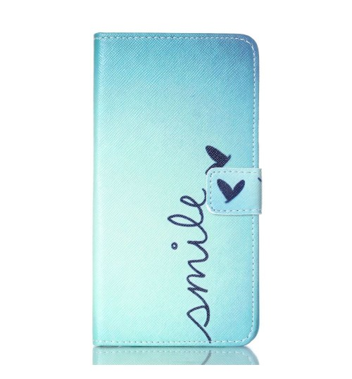 NOTE 5 case wallet leather case printed
