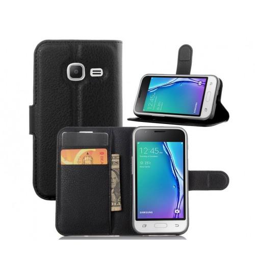 Samsung Galaxy J1 mini case wallet leather case